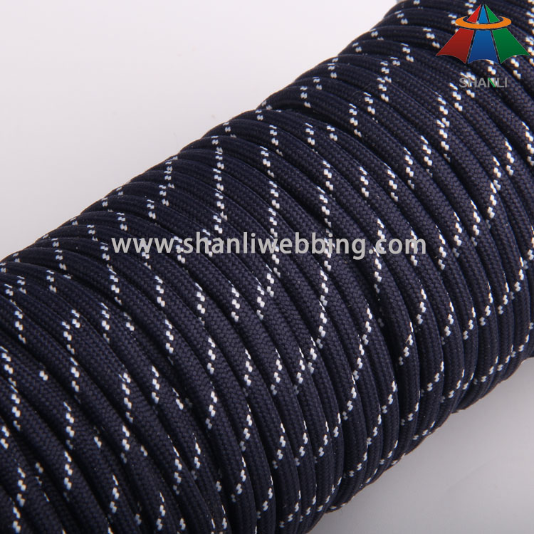 4mm Striped Polyester Rope