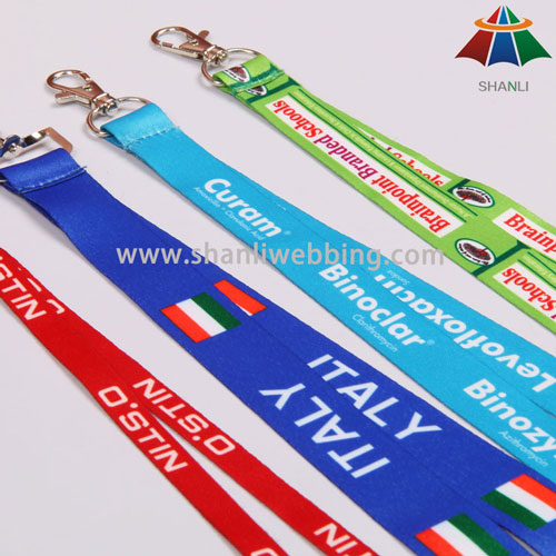 Sublimation Heat Transfer Printed Neck Lanyard
