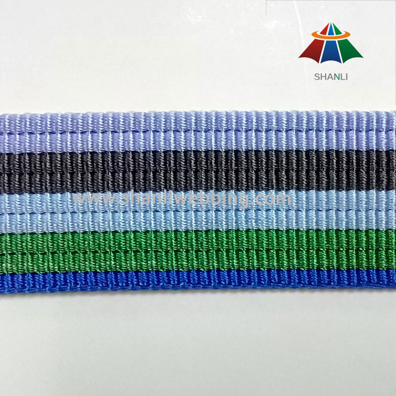 High Quality Stripe Nylon Webbing Straps