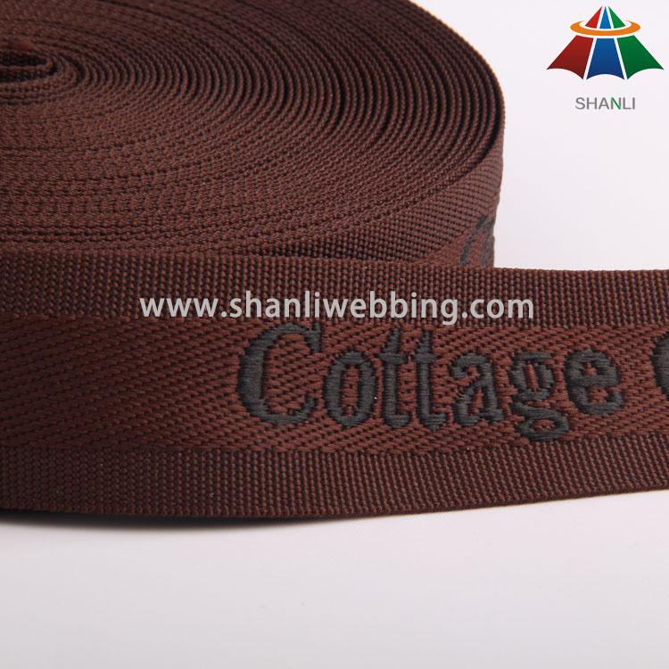 35mm Polyester Jacquard Webbing
