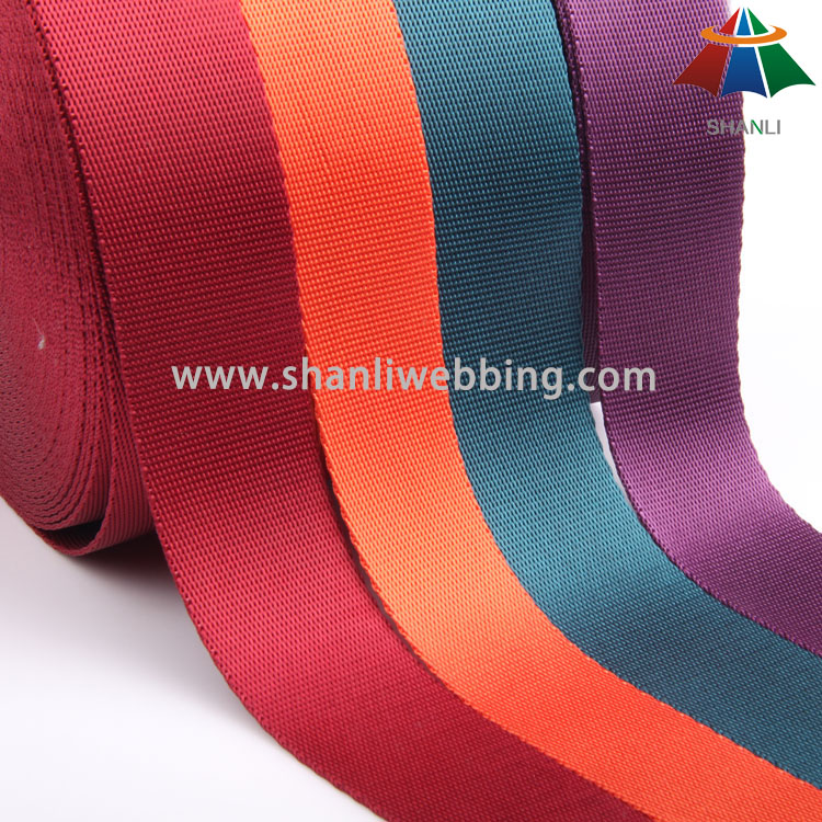 Nylon Twill Webbing for Luggage Straps