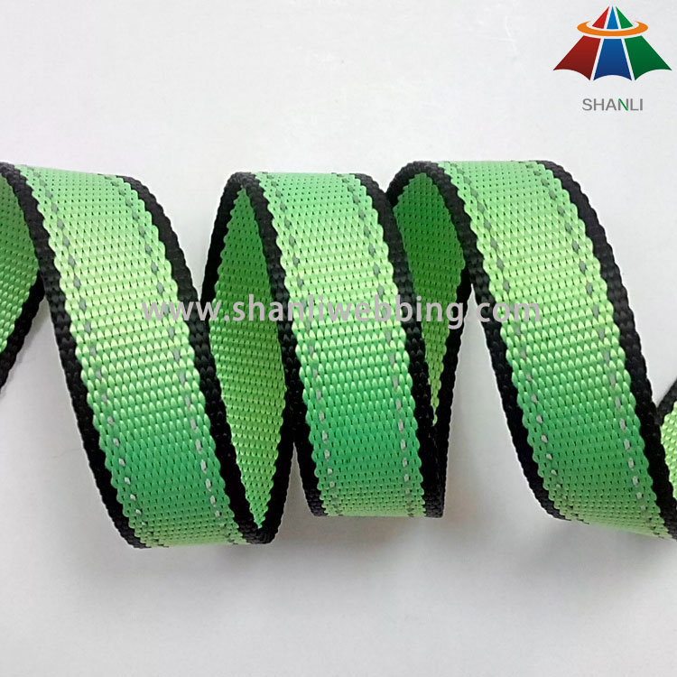 1 Inch Reflective Fabric Webbing for pet products