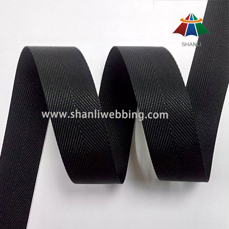 30mm Black Nylon Binding Tape Webbing