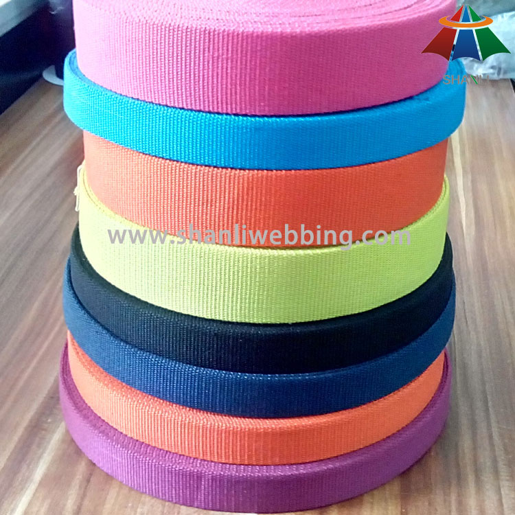 colorful polyester cotton webbing