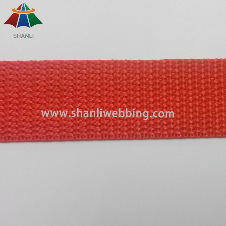 1 Inch Orange Lightweight PP Webbing Tape