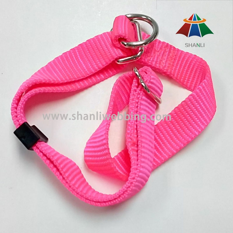 High Toughness Magenta Nylon Dog Collar