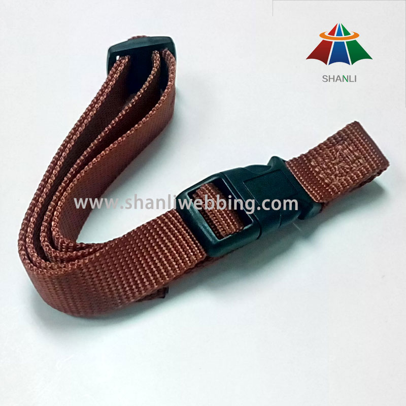 Good Quality Brown Nylon Material Dog Collar