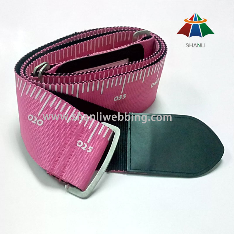with Scale Mark Pattern Luggage Tied Belt, Travel Luggage Strap