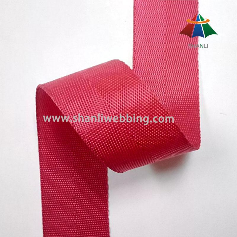 1 Inch Red Hurringbone Nylon Binding Tape Webbing