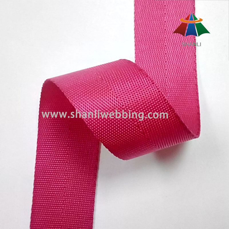 1 Inch Magenta Nylon Webbing Binding Tape for Garments Accessories