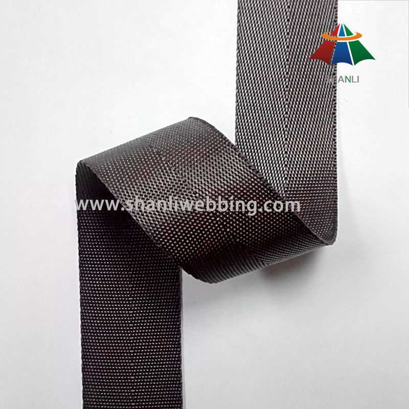 1 Inch Brown Nylon Binding Tape Webbing For Shoes