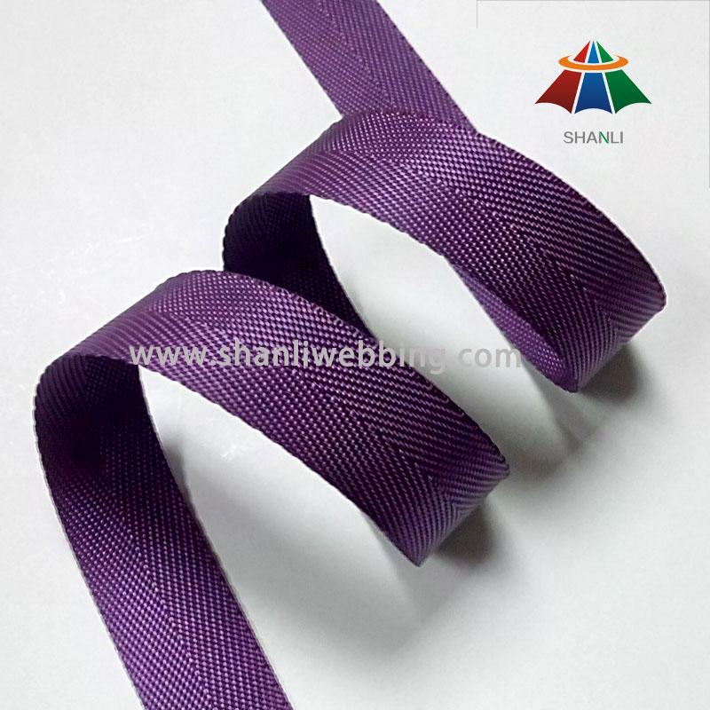22mm Purple Nylon Binding Tape Webbing, Webbing Tape for Backpacks
