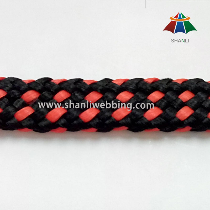 15mm Plain Braided Rope, Tubular PP/ Polypropylene Rope