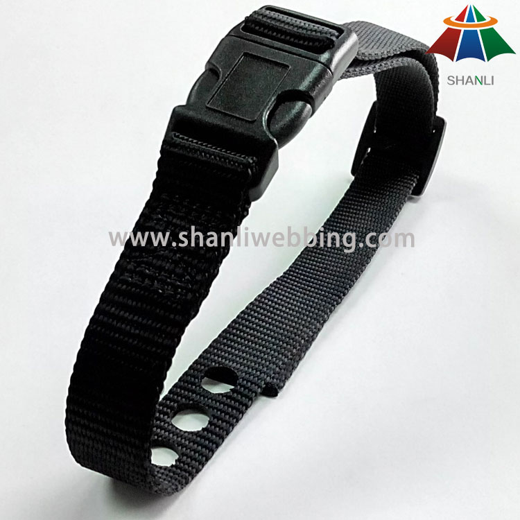 Best Price Hot Sale Black Nylon Dog Collar, Cat Collar