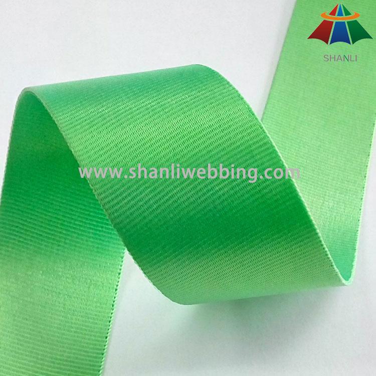 1.5 Inch Fine Lines Fluorescent Ribbon, Fluorescent Nylon Webbing