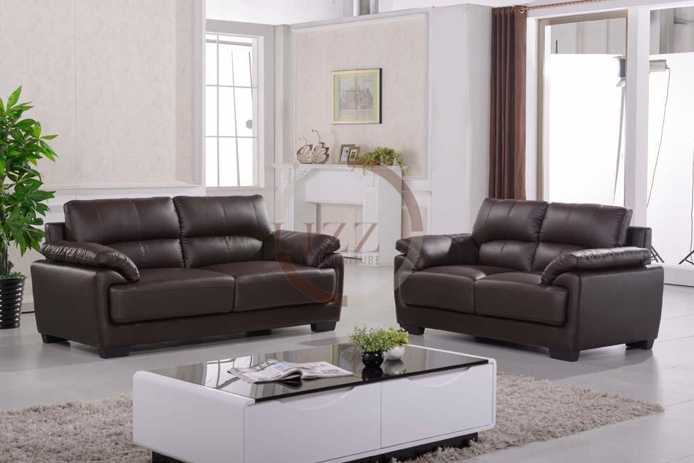 Mixed White 3 Seater Sofa