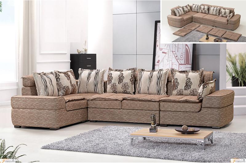 Modern Fabric Sofa L.MD223#