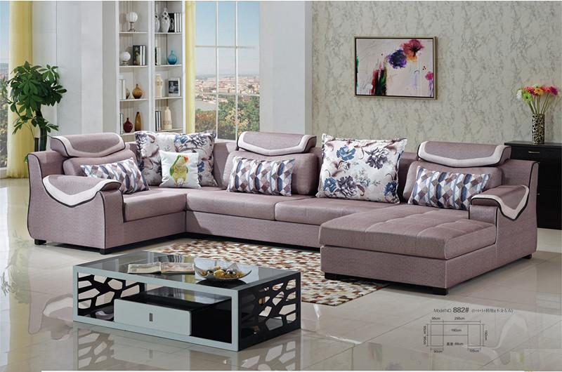 Fabric Sofa Malaysia L.MD882#