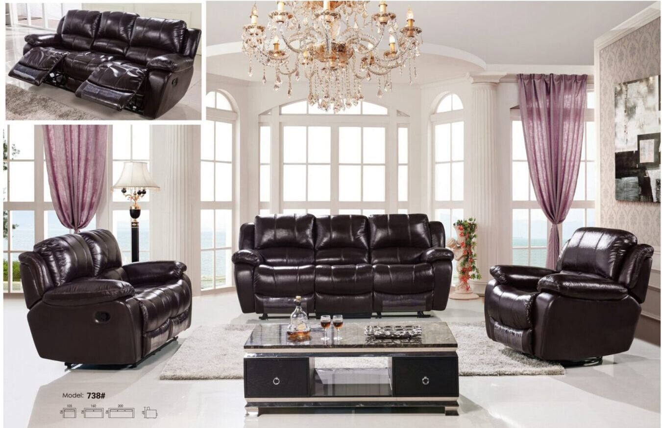 Dark Brown Leather Recliner Chair recliner sofa