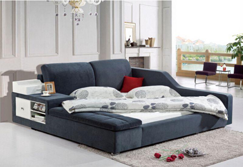 Malaysia Fabric Bed B8337