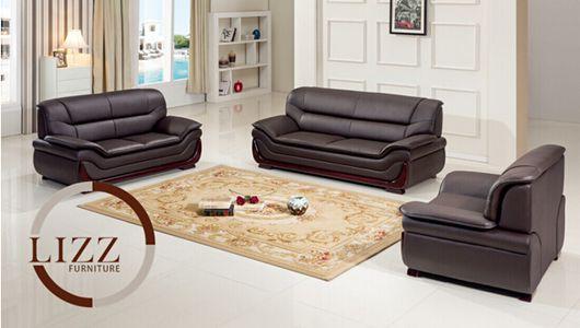 New Design Furniture Office Leather Sofa Set