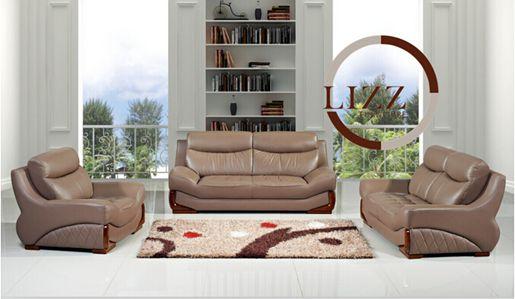 Office Furniture Modern Leather Sofa (L. P. 525)