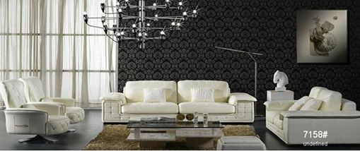 Viet Nam Furniture Office 3 Seater Leather Sofa