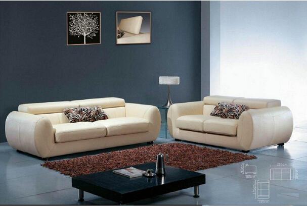 Brazil Furniture Office Leather Sofa (a. L. 071)