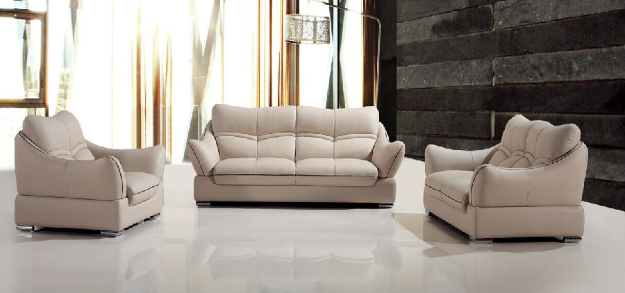 New Product Office Leather Sofa (H006)