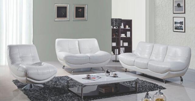 Furniture Office Leather Sofa (A. L. 831)