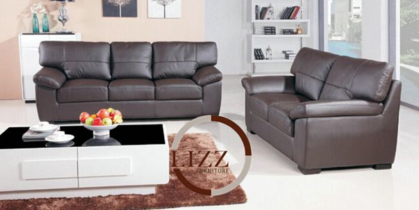 Russian Furniture Leather Office Sofa (A. L. 371)