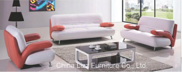 Sectional Furniture Leather Office Sofa (L. A. 238)