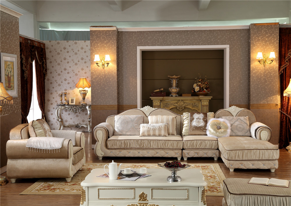 Living Room Furniture Couches Fabric Chair Covers Y1510 Fabric Sofa