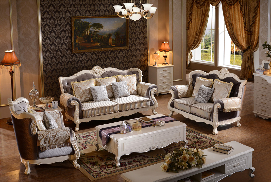 Modern Europe Style Living Room Sofa Couches Y1506