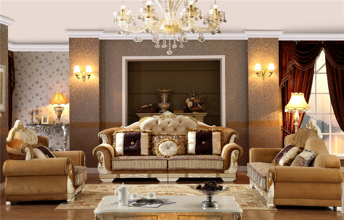 Europe Style Living Room Sofa Couches Y1505
