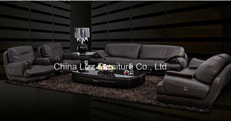 Dubai Leather Sofa Set (L. Al703)