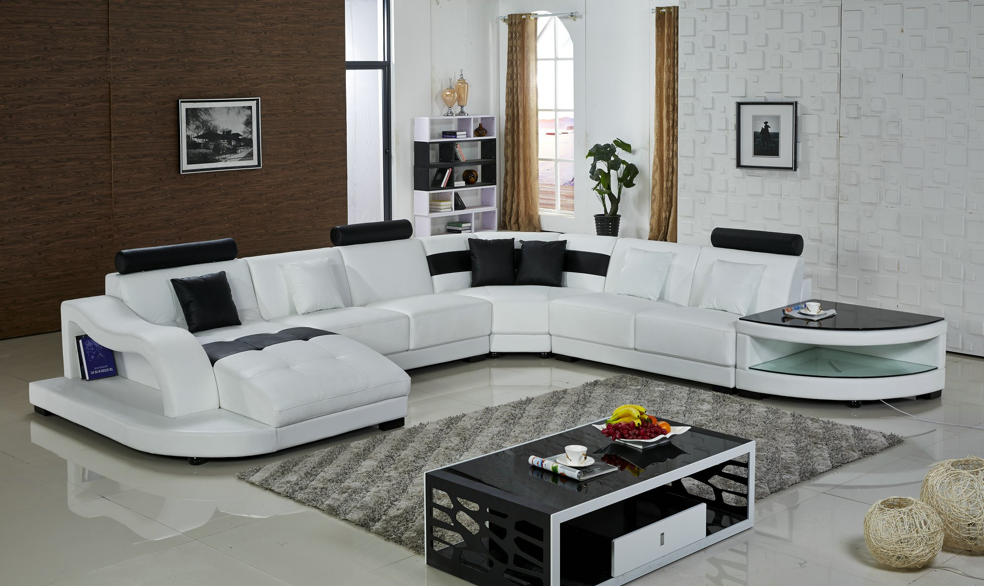 uk home living room furniture leather sofa h2217