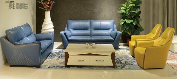 Modern Leather Sofa Set L. A519