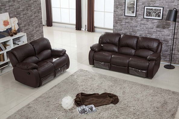 U. K Home Furniture Living Room Functional Leather Sofa