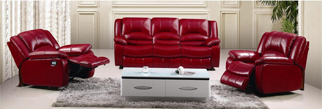 Furniture Office Sofa Design Leather Functional Sofa
