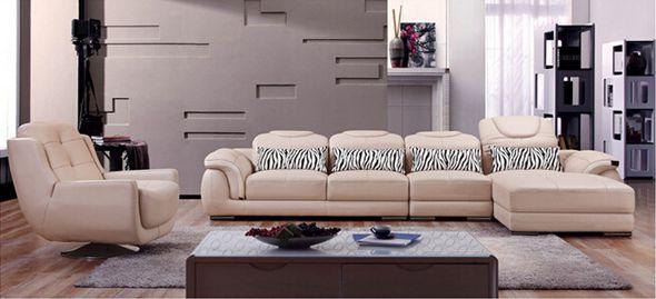 Kenya Leather Sofa Set (L. S2169)