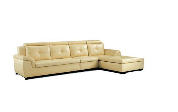Combination Leather Sofa Set (L. WA03)