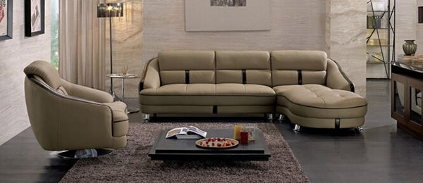 Sectional Sofa with Chaise (Y005A)
