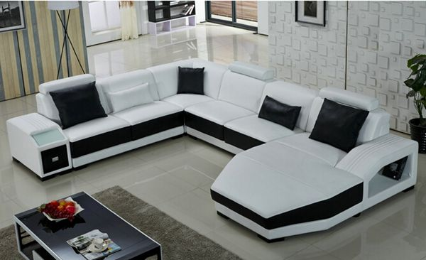 White U Shaped Sofa U Sofa