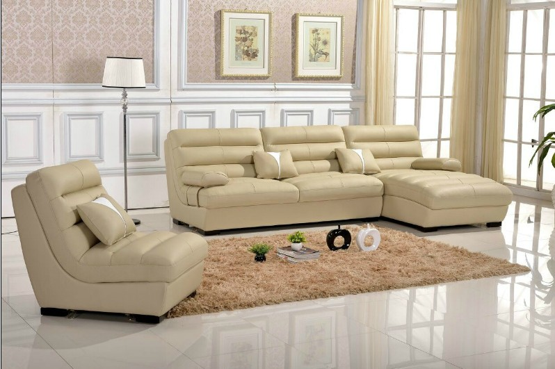 Modern Leather Sofa Covers L.AL340