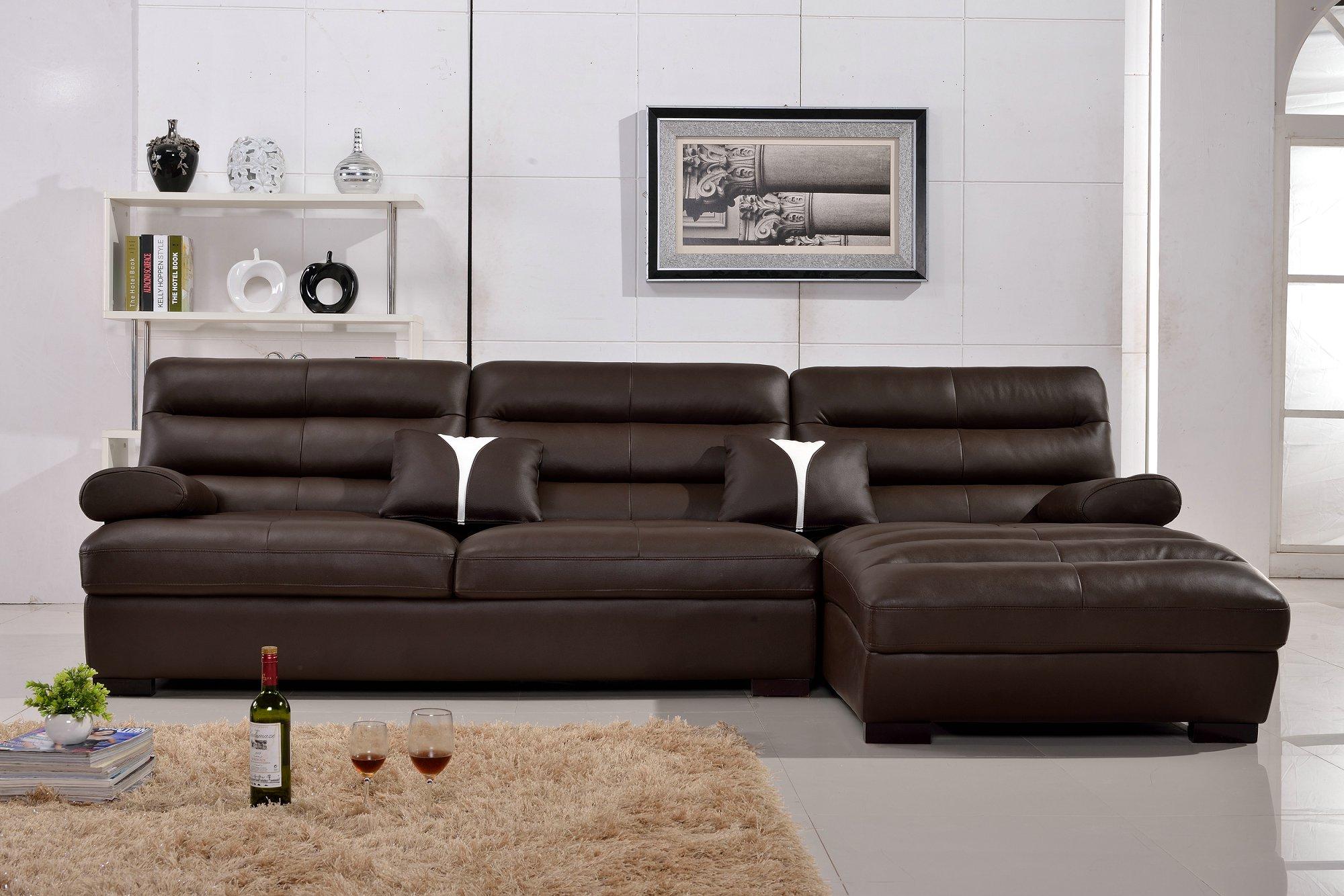 modern leather sofa covers l al340 leather sofa