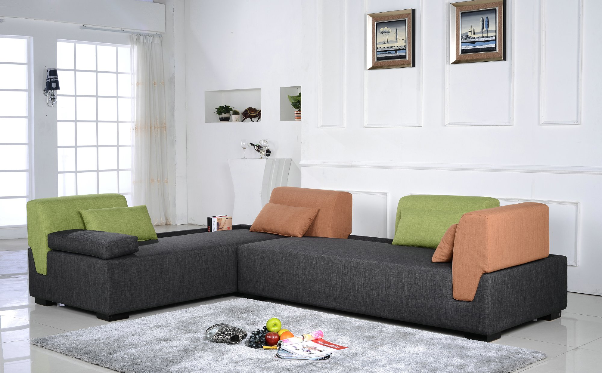 Furniture Indonesia Fabric Sofa L.AF901