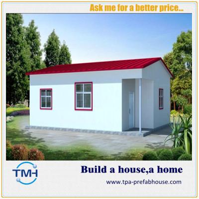 TPA-V23 Light Steel Structure Green Small Prefab Kit Home