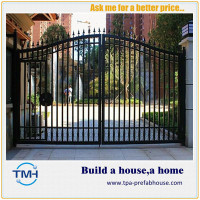 TPA-F16 Powder Coated Zinc Steel Fence Gate