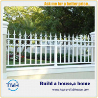 TPA-F7 Powder Coated Galvanized Steel Security Fence